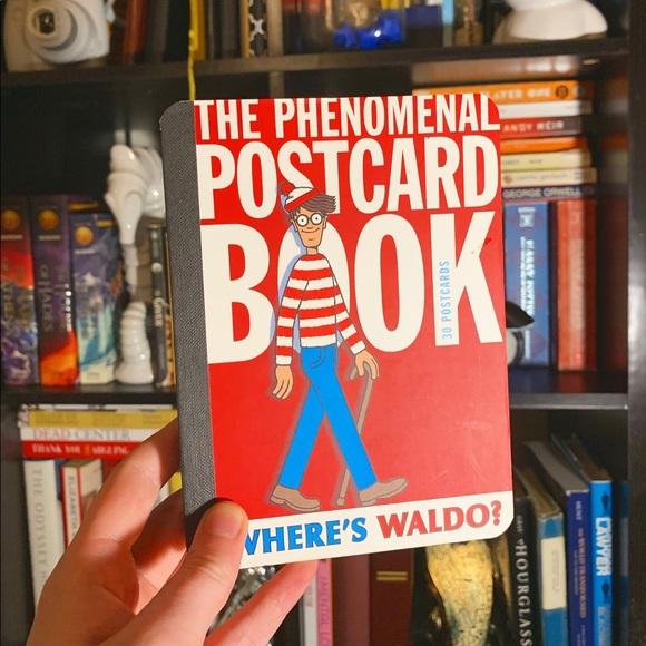 Where's Waldo Other - Where's Waldo Collectible Postcard Book